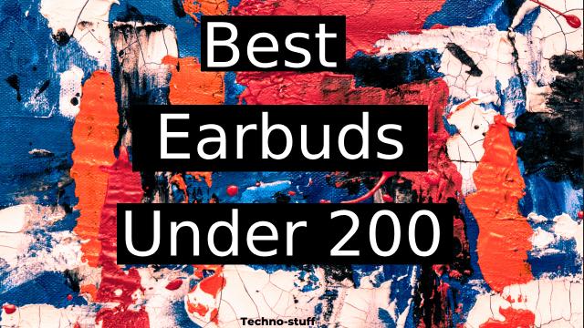 Best-Earbuds-Under-200