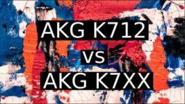 AKG K712 vs AKG K7XX